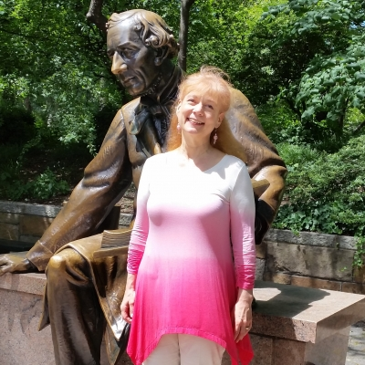 Me and Hans in Central Park.